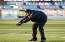Nuevo entrenador de porteros del club.