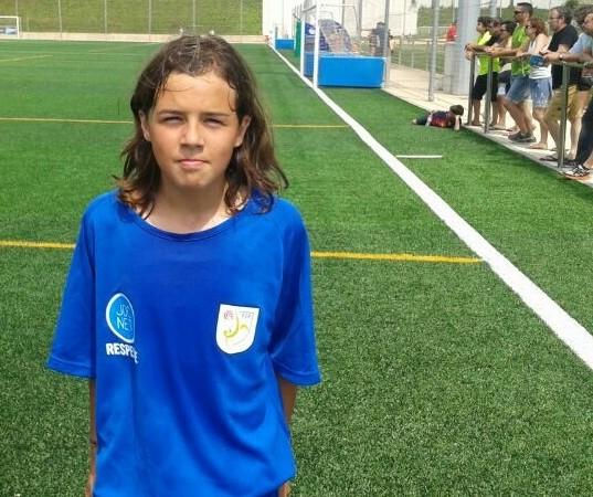 Nuestra jugadora Clara Carmona (Infantil B), ha vuelto a ser seleccionada para la selección territorial femenina sub-14 de Barcelona.