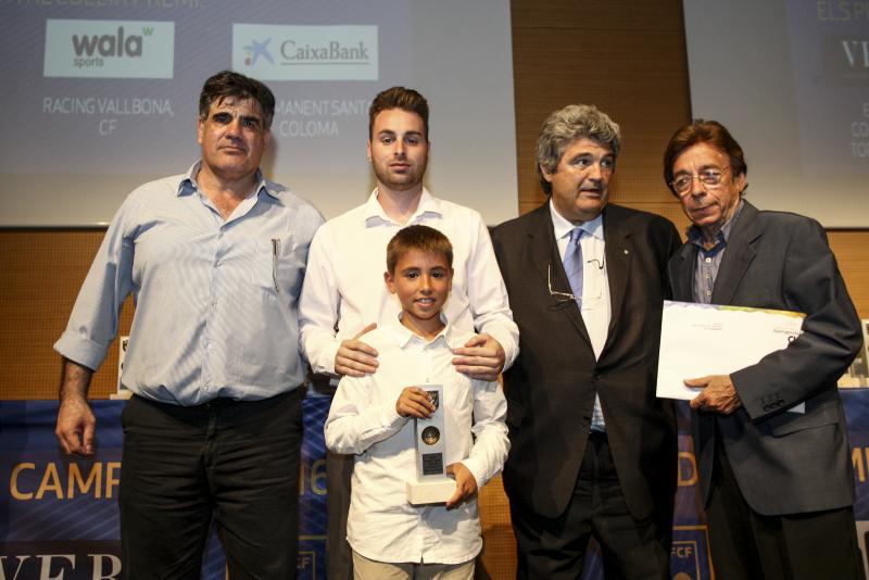 """Entrega de Premios Primer Clasificado """"BENJAMIN A"""" y """"FAIR PLAY"""" de Barcelona"""