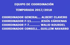 EQUIPO DE COORDINACIÓN 2017-2018
