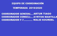 EQUIPO DE COORDINACIÓN 2019-2020